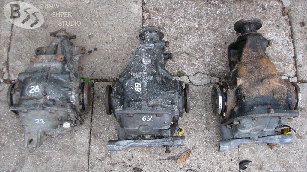 BMW e34 differentials