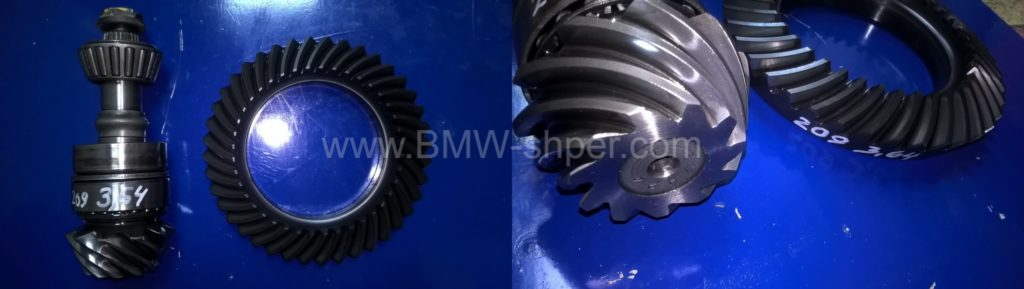 BMW 3.64 CWP ratio